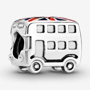 Authentic Pandora Union Jack Bus Charm